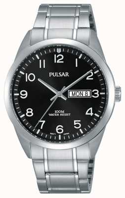 Pulsar Herren klassische Edelstahluhr PJ6063X1