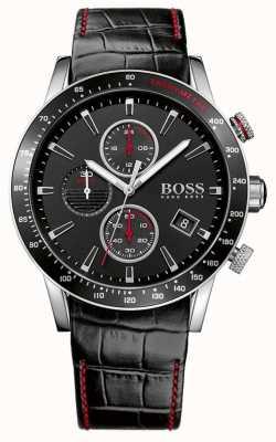 Boss Herren rafale schwarze Chronographenuhr 1513390