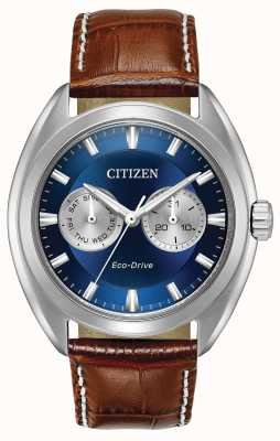Citizen Blauer Herren Eco-Drive Zifferblatt Paradex BU4010-05L