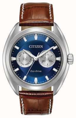 Citizen Mens Eco-Drive-blaues Zifferblatt paradex BU4010-05L