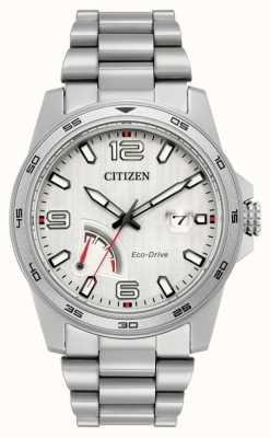 Citizen Mens Eco-Drive-Gangreserve Stahl AW7031-54A