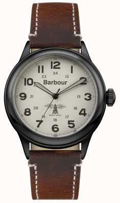 Barbour Mens Murton braunem Leder BB056CMBR