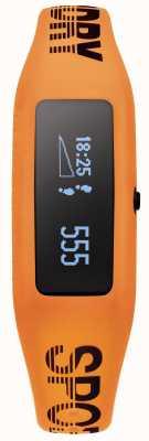 Superdry Unisex Fitness Tracker Orange Silikonband SYG202O