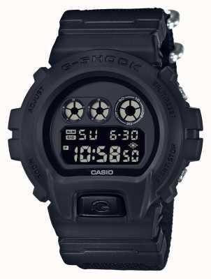 Casio Mens g-shock schwarz aus Stoffstreifen DW-6900BBN-1ER