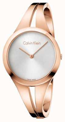 Calvin Klein Womans süchtig rosafarbenes Goldarmband K7W2M616