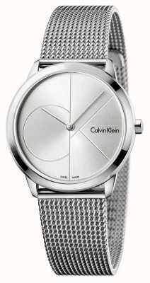 Calvin Klein Womans minimal Edelstahl Mesh K3M2212Z