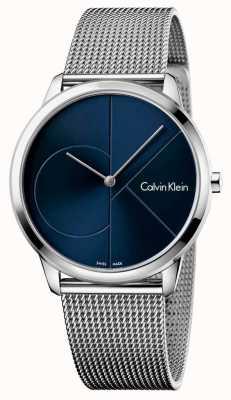 Calvin Klein Mens minimales Edelstahlband K3M2112N