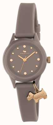 Radley Damen 'watch it' grau Armband Goldmarkierungen RY2322