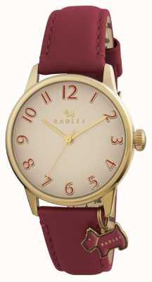 Radley Womans blair burgund Lederband RY2250