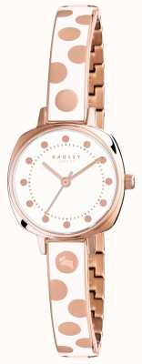 Radley Womans Kennington Spot Emaille-Creme RY4272