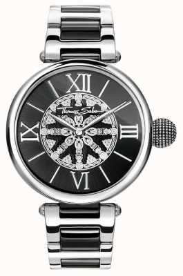 Thomas Sabo Womans Karma Edelstahl ip Links WA0298-290-203-38