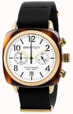 Briston Mens Clubmaster klassischen Chronographen 17140.PYA.T.2.NB