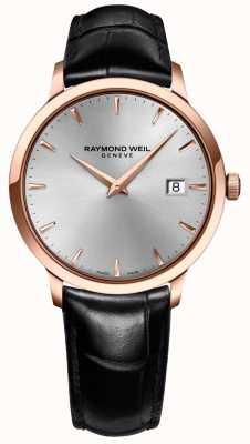 Raymond Weil Mens Toccata Silber Leder 5488-PC5-65001