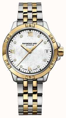 Raymond Weil Damen Tango Uhr | Edelstahlarmband | weißes Zifferblatt | 5960-STP-00995