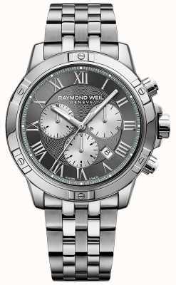 Raymond Weil Herren Tango Grau Chronograph 8560-ST-00606