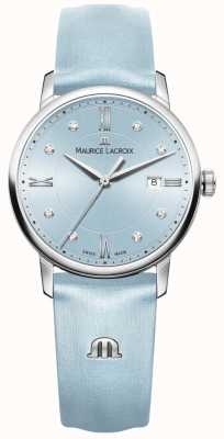 Maurice Lacroix Womans eliros acht Diamanten blau EL1094-SS001-550-1