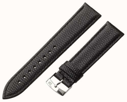 Morellato Strap nur - ibiza Eidechsen Kalb schwarz 20mm A01X3266773019CR20