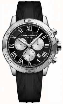 Raymond Weil Herren Tango Chronograph schwarz schweizerisch 8560-SR-00206