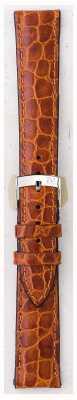 Morellato Strap nur - liverpool croc Leder hellbraun 16mm A01U0751376037CR16