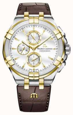 Maurice Lacroix Herren Aikon Quarz Leder AI1018-PVY11-132-1