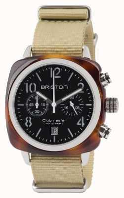 Briston Clubmaster Classic Acetat - Chronograph Schildpatt schwarz 13140.SA.T.1.NK