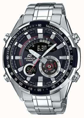 Casio Edifice Uhr mit Tachymeter Chronograph ERA-600D-1AVUEF
