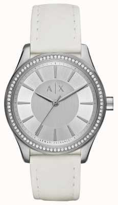 Armani Exchange Damen nicolette weiße Armbanduhr AX5445