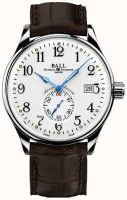 Ball Watch Company Herren Trainmaster Standard Zeit Chronometer NM3888D-LL1CJ-WH