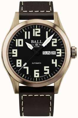 Ball Watch Company Bronzegehäuse des Herreningenieurs iii NM2186C-L3J-BK