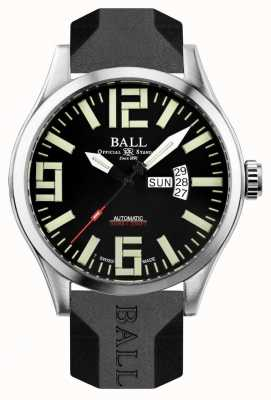 Ball Watch Company Mens Engineer Master II Aviator NM1080C-P14A-BK