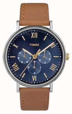 Timex Southview Multifunktionschronograph für Herren braun TW2R29100