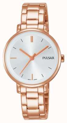 Pulsar Womans Rose vergoldet Edelstahl Armband PH8340X1