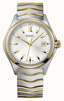 EBEL Wave Herren zweifarbige goldene Uhr 1216202