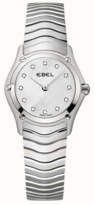 EBEL Klassische Damen Edelstahluhr 1215421