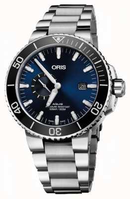Oris Aquis Datum automatische Edelstahl blauen Zifferblatt 01 743 7733 4135-07 8 24 05PEB