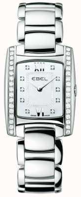 EBEL Damenbrasilien-Diamant-Edelstahl 1215607