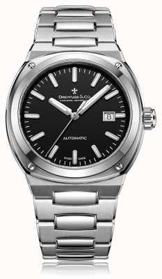 Dreyfuss Herren Automatik Edelstahl Armband DGB00154/04
