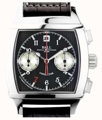 Ball Watch Company Vanderbilt schwarzer Zifferblatt Chronograph limitierter Auflage Dirigent CM2068D-LJ-BK