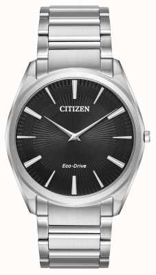 Citizen Ultradünner Herren Eco-Drive Stiletto Edelstahl AR3070-55E