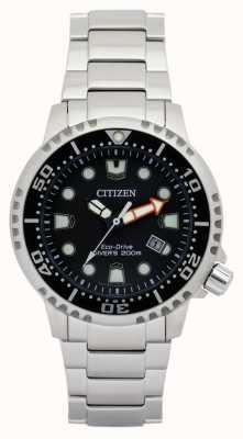 Citizen Mens Öko-Drive Promaster Taucher Edelstahl BN0150-61E