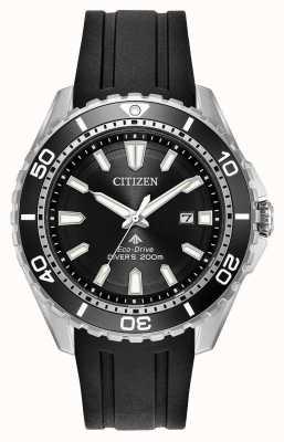 Citizen Mens Öko-Drive Promaster Taucher Gummiband BN0190-07E