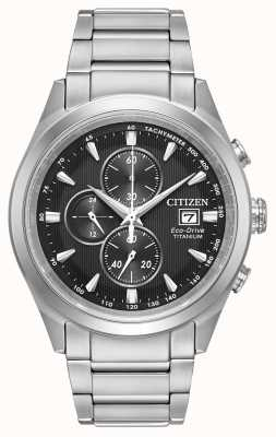 Citizen Mens Öko-Antrieb Titan Chronograph CA0650-58E