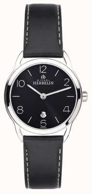 Michel Herbelin Womens equinox black strap Uhr 16977/14N