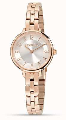 Morellato Petra kleine Roségold Uhr für Damen R0153140510