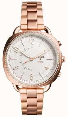 Fossil Q Komplize Hybrid-Smartwatch Roségold-Ton FTW1208
