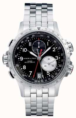 Hamilton Aviation eto chrono Quarz Edelstahl H77612133