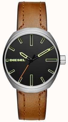 Diesel Mens klutch braun Lederband DZ1831