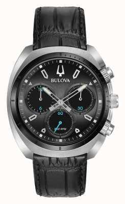 Bulova Herren sport curv chronograph schwarz 98A155