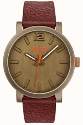 Hugo Boss Orange Mens bilbao Uhr in braun 1550036
