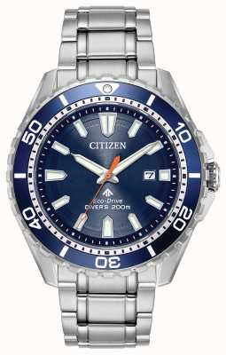 Citizen Eco-Laufwerk Herren Promaster Divers Datum 200m BN0191-55L
